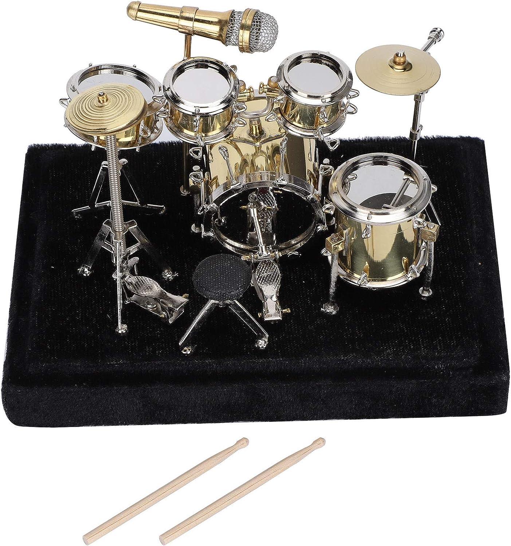 Max 70% OFF 70% OFF Outlet Pssopp Mini Drum Model Miniature Set Musical Instrument Mod