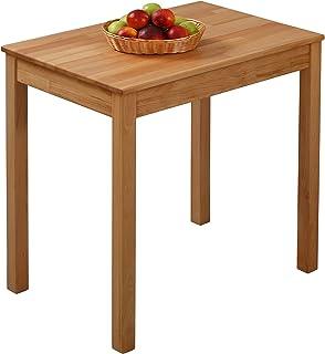 Table à Manger en hêtre Tomas en Bois Massif (70 x 50 x 75 cm)