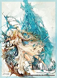 Square Enix Glossy 60 ct Final Fantasy TCG: FFXIV Minifilia Standard Size Card Sleeves Individual Pack