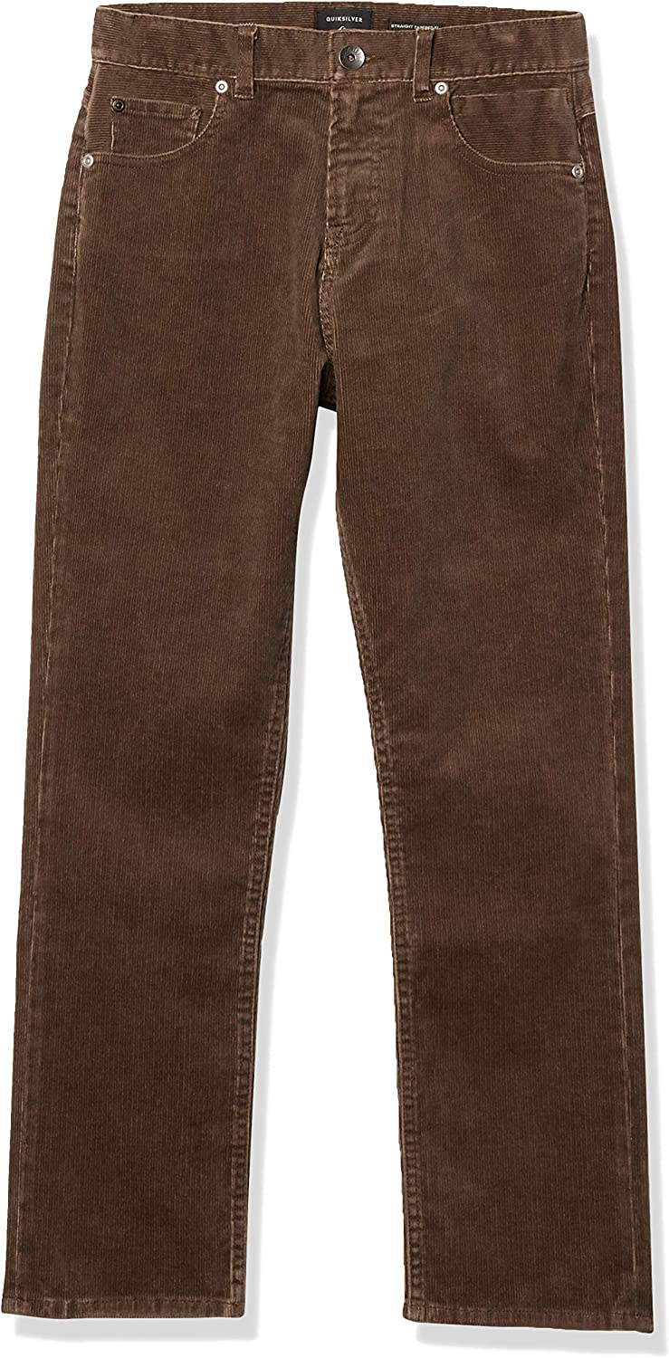 Quiksilver Boys' Max 44% OFF Kracker Cord Pant Max 41% OFF Youth