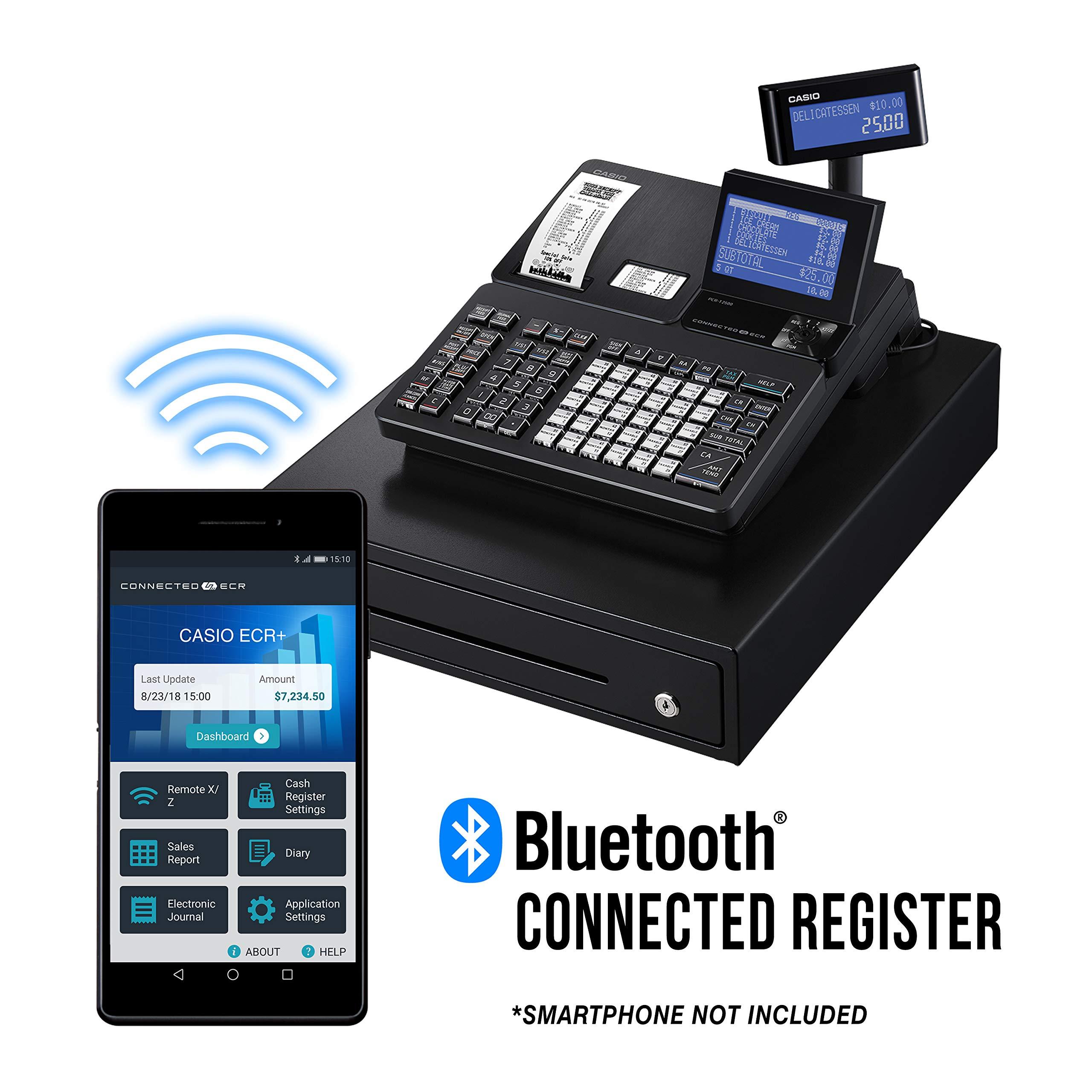 Casio PCR T2500 Cash Register 4 5