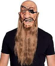 RoadRoma Fancy Dress Moustache y Fake Beard Facial Hair Party Costume Dress Up Halloween-Black