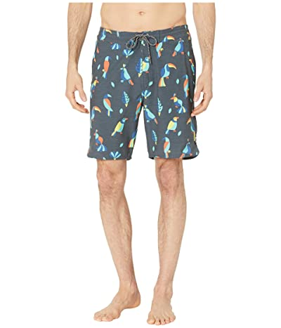 Rip Curl Two Cans Layday Swim Shorts (Navy) Men