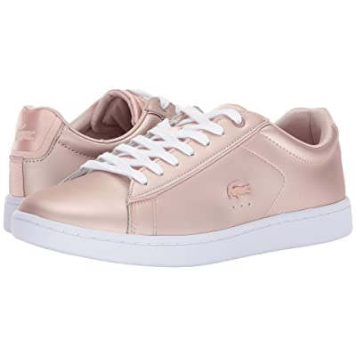Lacoste Carnaby Evo 118 7 (Rose Gold) Women