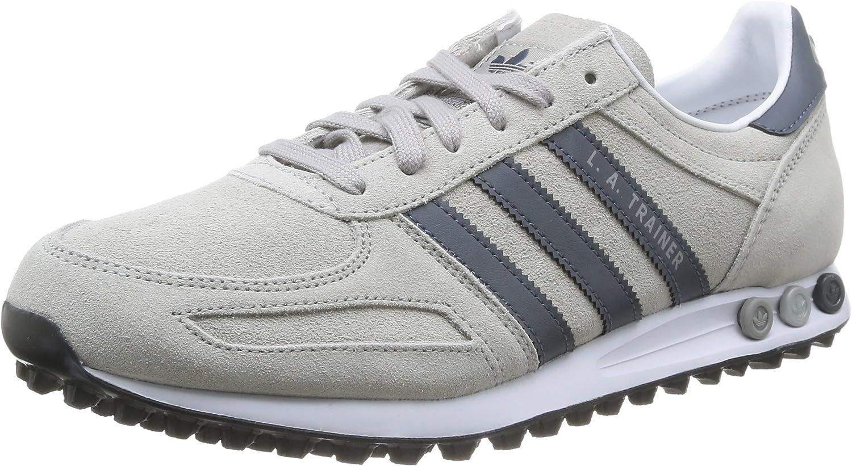 Adidas LA Trainer, Sneaker Uomo, Grigio, 45 1/3 EU : Amazon.it ...