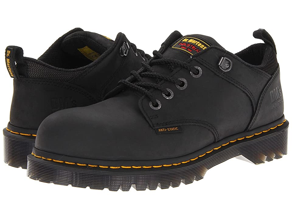 Dr. Martens Ashridge SD (Black Industrial Greasy) Men