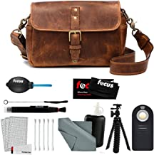 ONA - The Bowery - Camera Messenger Bag - Antique Cognac Leather (ONA5-014LBR) and Photographer's Accessory Kit
