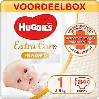 Huggies Newborn luiers - Maat 1 (2 tot 5 kg) - 84 stuks - Voordeelverpakking