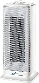 PURLINE HOTI T10 Calefactor cerámico de Torre con termostato 1000W-2000W Sensor antivuelco. Calefactor para Cocina, Comedor, Dormitorio, Oficina, etc.