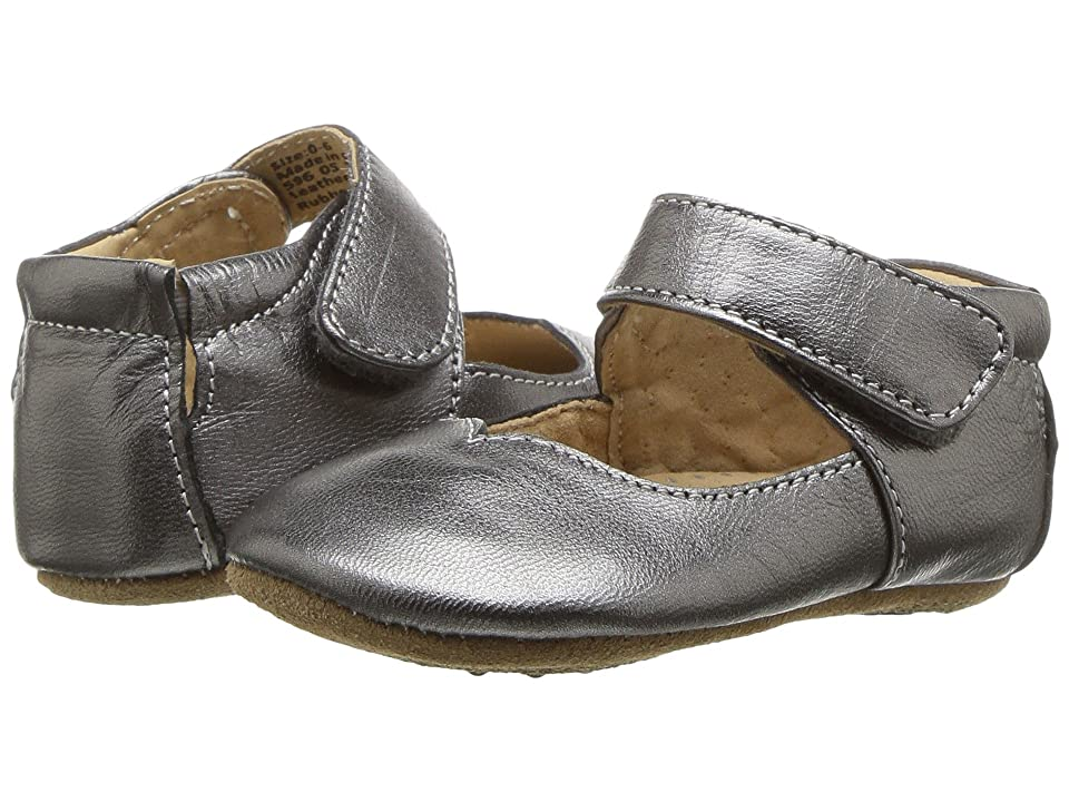 Livie & Luca Astrid (Infant) (Pewter Metallic) Girl