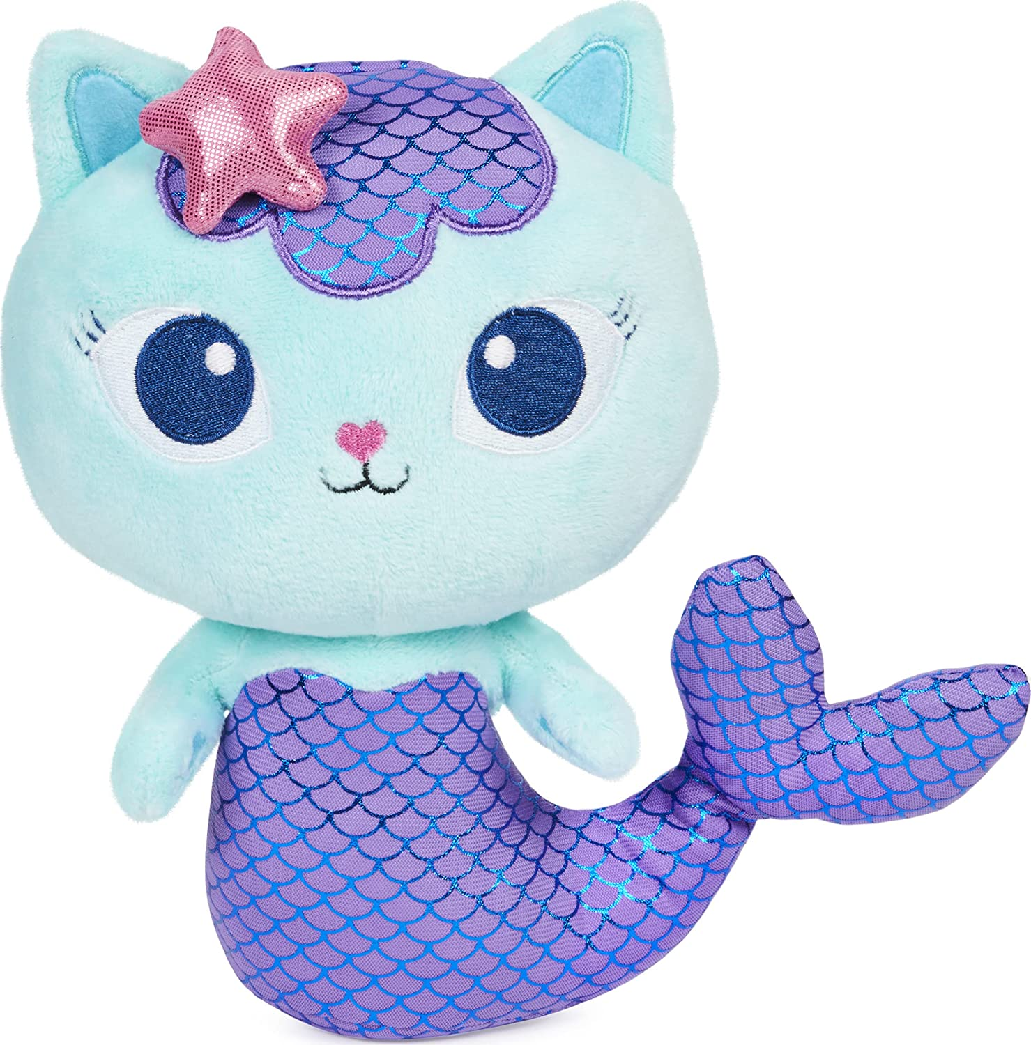 Gabby's safety Dollhouse 8-inch MerCat Toy Purr-ific 2021new shipping free Kids Plush