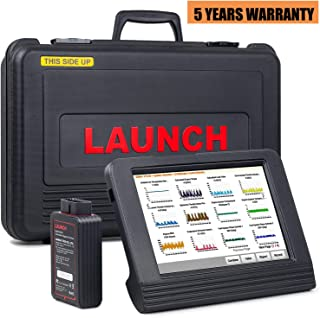 LAUNCH X431 V Pro (Same Function with X431 V+) Bidirectional Scanner Full System Diagnostic Scan Tool with Relearn Reset Function, ECU Coding,Key Fob Programming, Actuation Test, DPF Regeneration