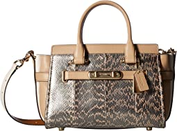 COACH - Swagger 27 in Pearlized Snake
