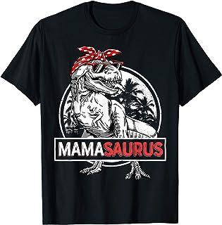 Mamasaurus T rex Dinosaur Funny Mama Saurus Family...
