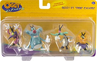Lansay 11204 Oggy and 3 Cockroaches Figurine
