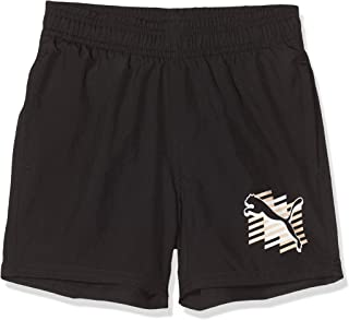 Puma Boy's Regular Fit Synthetic Casual Shorts