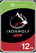 Seagate IronWolf 12TB NAS Internal Hard Drive HDD – CMR 3.5 Inch SATA 6Gb/s 7200 RPM 256MB Cache for RAID Network Attached...