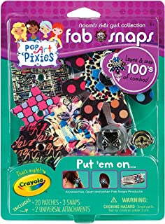 Crayola Pop Art Pixies Fab Snaps Starter Refill Kit Naomi