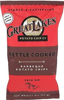 Great Lakes Potato Chips, Chip Potato Barbecue, 8 Ounce