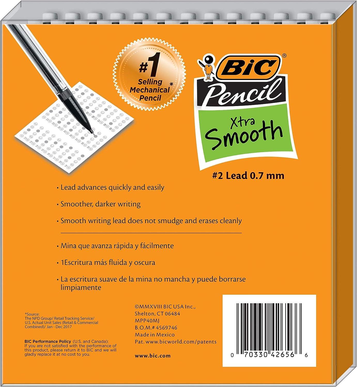 Medium Point 40-Count 0.7 mm Black, Mechanical Pencil