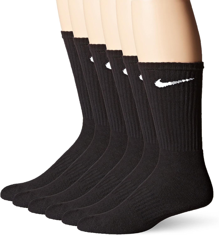 Nike Men's Dri-Fit Training Cotton Cushioned Crew Socks (6 Pair)