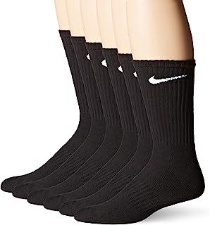 Men's Dri-Fit Training Cotton Cushioned Crew Socks (6 Pair)