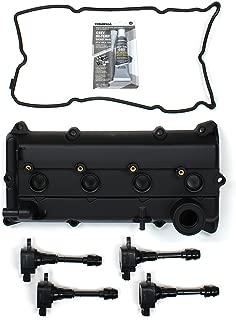 CNVG-D1253 Brand New Valve Cover, Valve Cover Gasket, Spark Plug Seals, Ignition Coil Set For 02-06 Nissan Altima Sentra 2.5L QR25DE