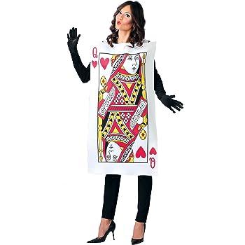 Guirca- Disfraz adulta dama de cartas, Talla 42-44 (80780.0 ...