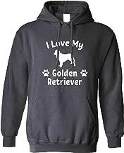 Dog Owner Unisex Hoodie I Love My Golden Retriever