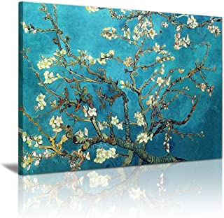 Almond Blossom by Vincent Van Gogh Oil Paintings Reproduction Modern Extra Large Framed Floral Giclee Canvas Prints Flower...