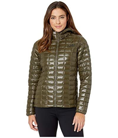 The North Face ThermoBalltm Eco Hoodie (New Taupe Green) Women