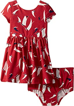 Sailboat Twist-Back Dress (Infant)