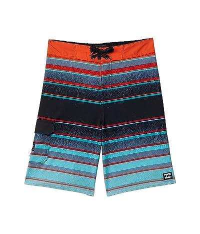 Billabong Kids All Day Stripe Pro Boardshorts (Big Kids)