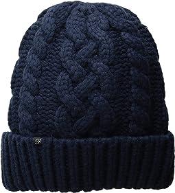 Hand Knit Vegan Cashmere Hat