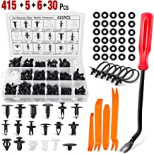 AFA Tooling Push Retainer Set Free Fastener Remover Approved for Automotive Most Popular Sizes 340 Pcs