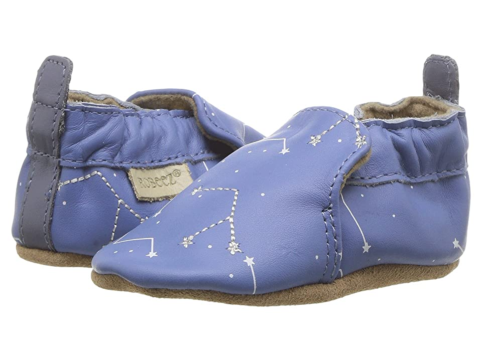 Robeez Star Gazer Soft Sole (Infant/Toddler) (Blue) Boy