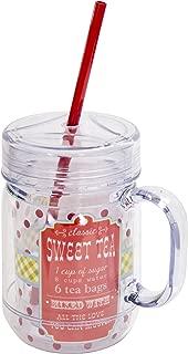 Boston Warehouse Classic Sweet Tea Insulated Mason Jar, 20-Ounce