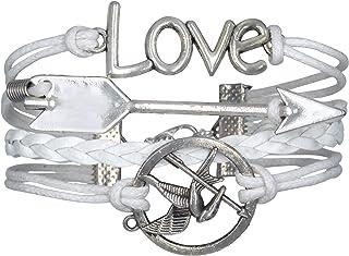 Bracelet infini love cœur bleu ciel infinity karma one direction été