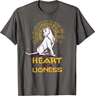 heart of a lion t shirt