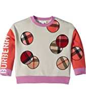 Burberry Kids - Scarf Sweat Jacket (Little Kids/Big Kids)