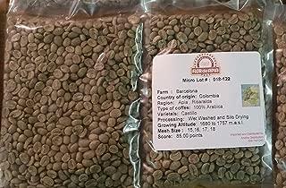 Colombian Green Unroasted Coffee Beans 3- Pounds Single Origin Farm - Barcelona