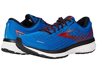 Brooks Ghost 13 (Blue/Red/White) Men
