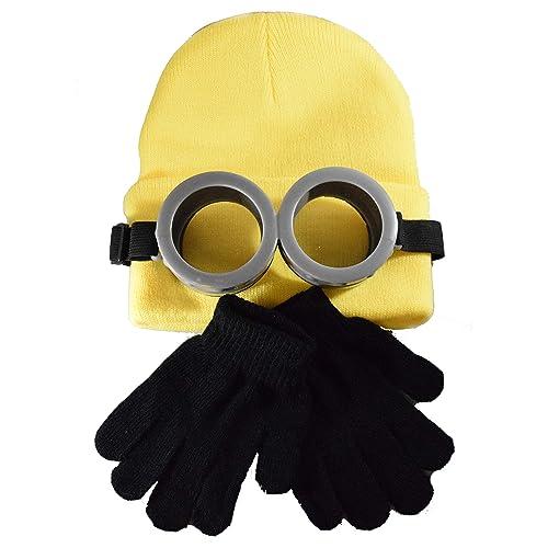 c78d451ac51 Coconut Creek Kids - Adult Minion Costume Kit 1 Minion Yellow Beanie