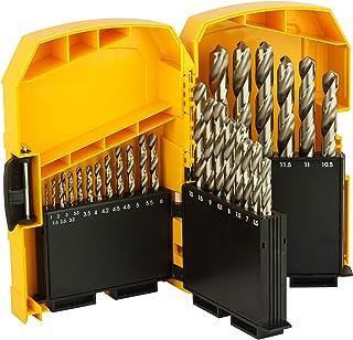 DeWalt DT5929-QZ: Cobalt metal drill set (29 pieces) in a metal case