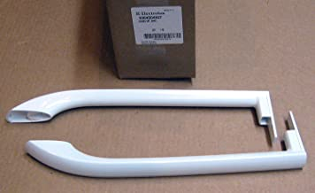 For Frigidaire Refrigerator White Door Handle Set # LZ0336306PAFR350
