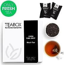 Teabox Earl Grey Black Tea with Bergamot Oil (16 Teabags)