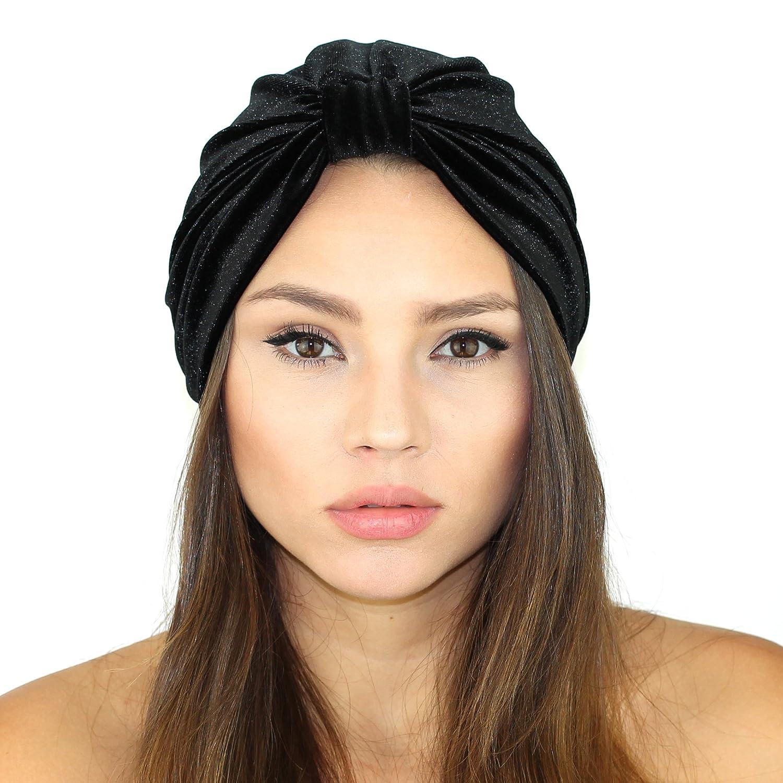 Velvet head turban