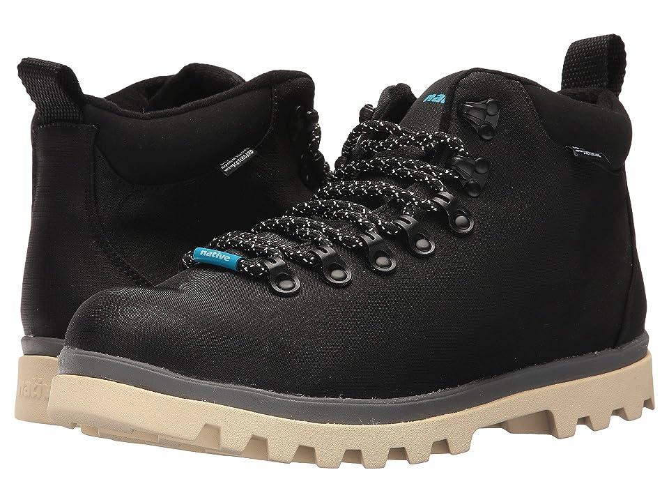 f3919ed89811 Native Shoes Fitzsimmons Treklite (Jiffy Black Dublin Grey Bone White) Shoes