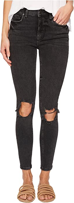 Free People - High-Rise Busted Skinny