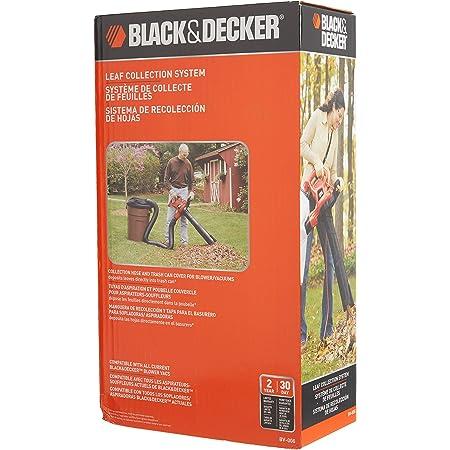 BV6600 /& BV-008 BLACK+DECKER 3-in-1 Electric Leaf Blower with Leaf Blower Vacuum Bags Disposable